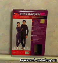 Отзыв про термобелье Thermoform (Термоформ)