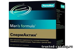 Отзывы про спермактин