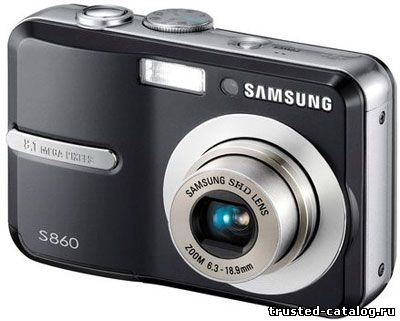 Отзыв про фотоаппарат SAMSUNG S860