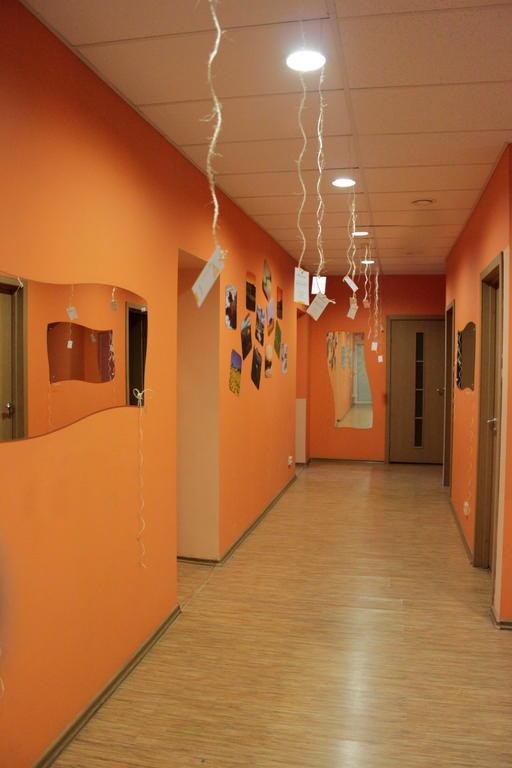 Вид коридора в Балтик Хостел (Рига)